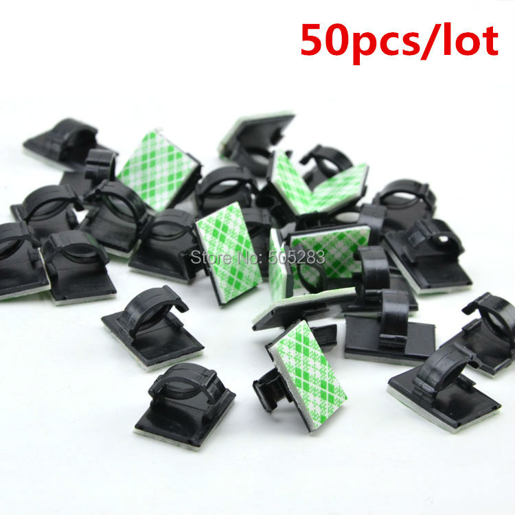 online get cheap wiring harness clip aliexpress com alibaba group 50pcs mini cable clip holder organizer cord cable fixed seat cable adhesive tie mount cable winder wiring harness hy470 50