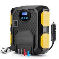 Digital Tire Inflator Car Portable Air Compressor Pump 12V 150 PSI Auto Air Pump Tool Preset Tire Pressure
