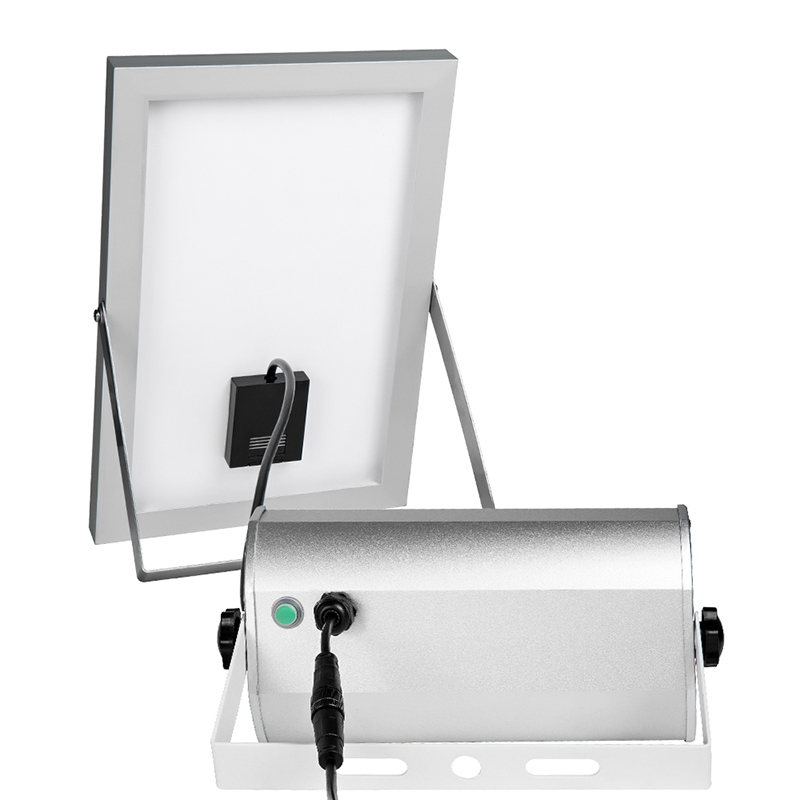 Image 3 - 65 Leds Solar Power Lamp With Rremote Control12W Spotlight Wireless Outdoor WaterproofGarden 48LEDs Solar Energy Street Light-in Solar Lamps from Lights & Lighting