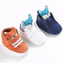 Cartoon Blue Baby Sport Sneakers Branded Blue Boy Boots Newb