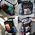 Portable Muiti-Pocket Durable Organizer Holder Automobile Oxford Canvas Seat Storage Bag Large Capacity with Many Pockets
