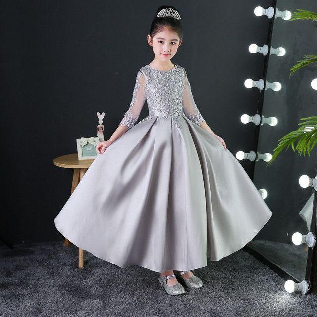 Baby Silver Princess Dress...