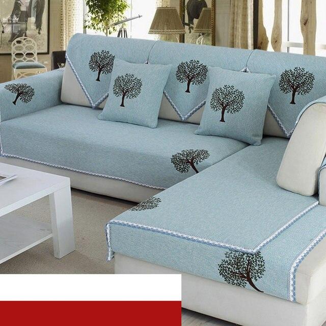 Online Shop L Shaped Sofa Cover Towel Pads W Pillow Case Warm Corner Gorgeous L Shaped Pillow Cover