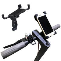 Adjustable Mobile Phone Stand Holder For Xiaomi Mijia M365 Electric Smart Scooter EF1 Foldable Mijia Qicycle