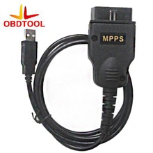 MPPS V13 Chip Tuning tool Mpps k can flasher v13.02 USB diagnostic cable,Black Case MPPS K + CAN Flasher V13.02 good quality