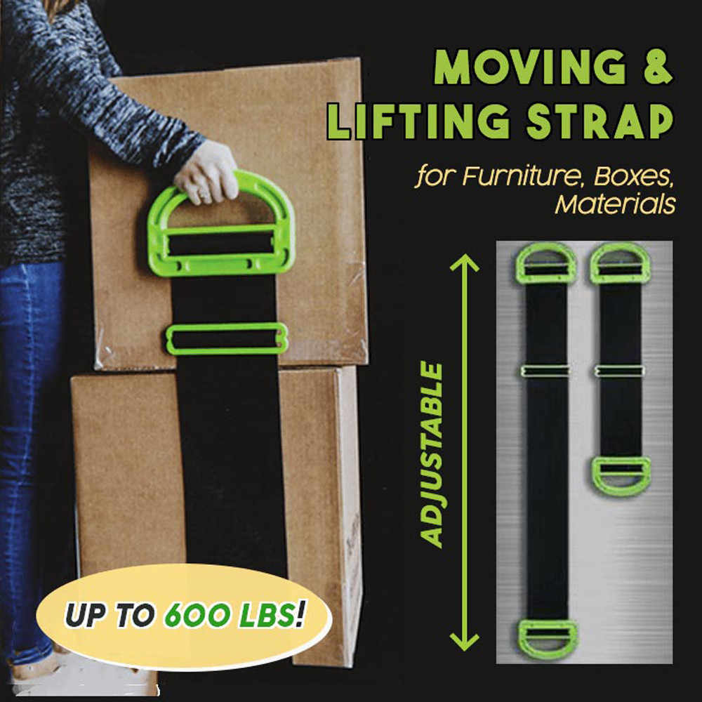 Adjustable Moving And Lifting Straps For Furniture Boxes Mattress green Straps Team Straps Mover Easier Conveying dropshipping