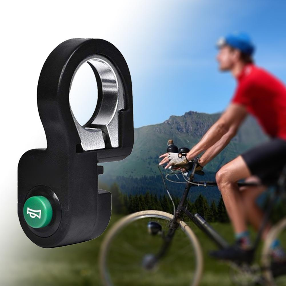Bicycle Plastic Horn Switch Button Durable Accessory for Electric Bike Scooter