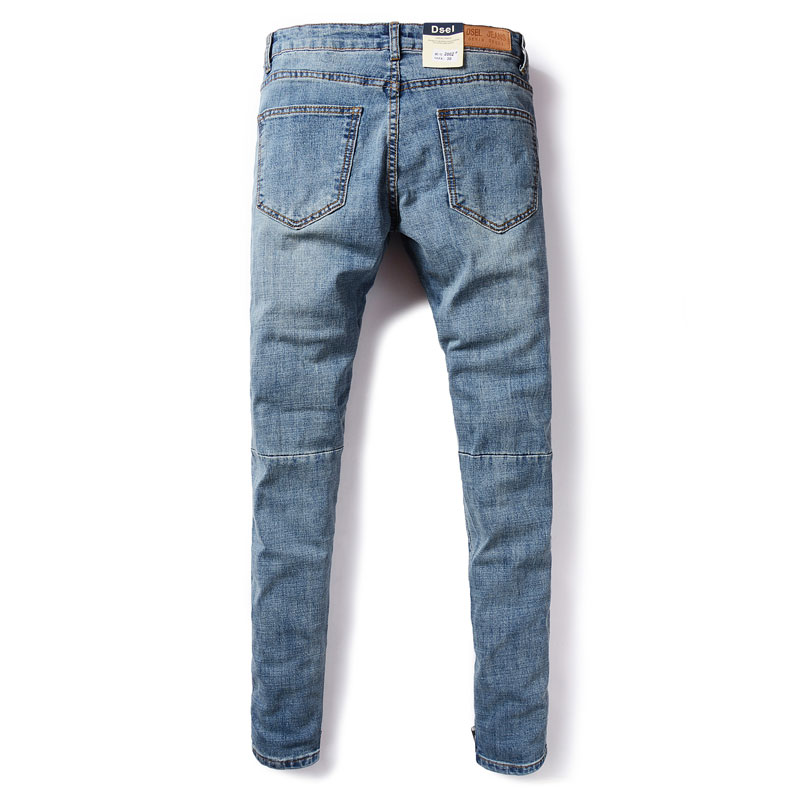 2017 Fashion Dsel Designer jeans men Famous Brand Ripped jeans Denim Cotton Jeans Men Casual Pants printed jeans , A2002
