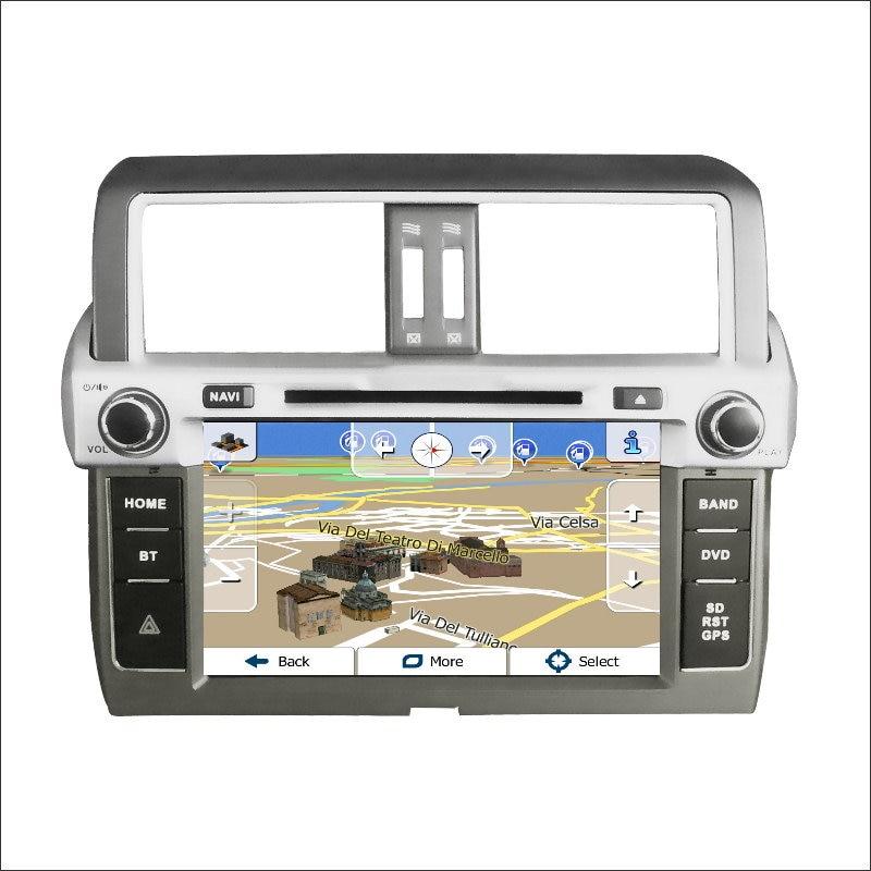 Para Toyota Prado 150/GX 460 2014 2015  Coche de Radio Amplificador de CD Reprod