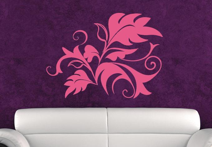 helecho abstracto decoracin hogar etiqueta de la pared wallpaper art decals d diseo decoracin de la