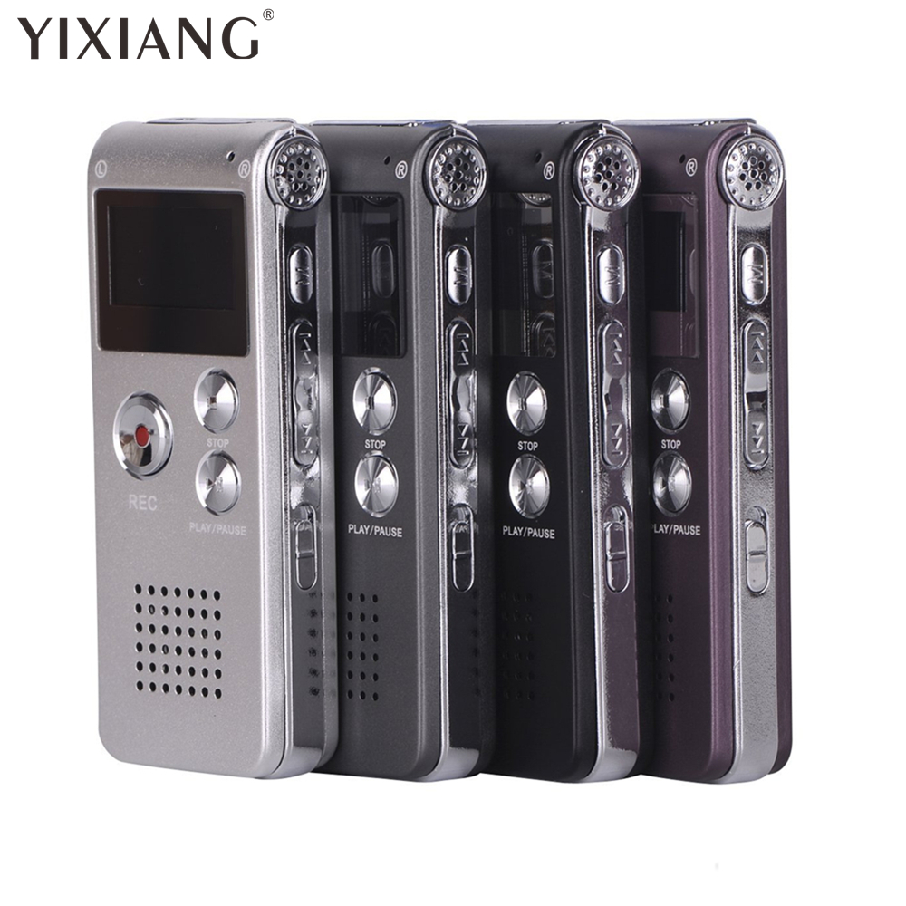 YIXIANG High quality digital voice recorder 8GB Mini USB Flash Digital Audio Voice Recording 650Hr Dictaphone WAV MP3 Player ...