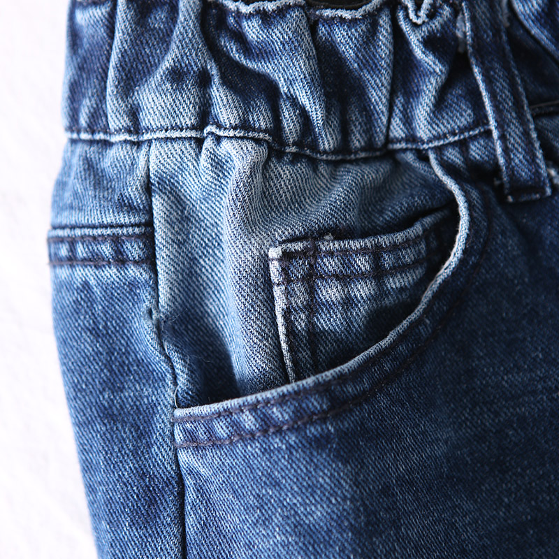 the Black Agujero Mujer N6100 Roto Blue Literario Cintura Jeans Pierna Blanco Con Elástica Tamaño Grande Lavado Recta O61nzqZOS
