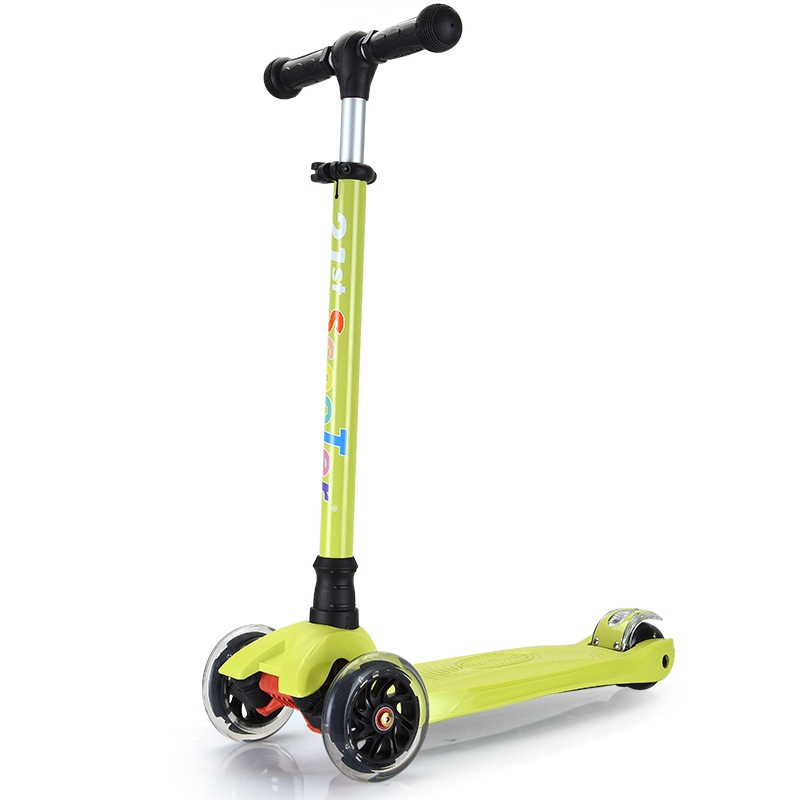 Free Shipping Scooter Children 2-15 Years Old Max Load 60kg Flashing Wheel