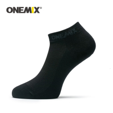 ONEMIX 1 Pair Men Sports Socks Women Running Pure Cotton Outdoor Jogging Walking
