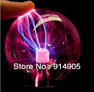 USB gift 4 ports HUB Plasma Ball magic LED Light Lamp Desktop Light Show