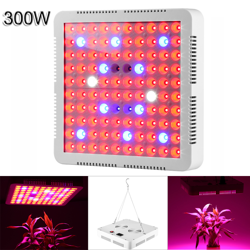 Phyto Lamp led Grow Light 300W Full Spectrum For indoor Medical plants Grow Greenhouse hydroponic systems grow Lamp цена