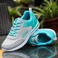 2017 Новых Мужчин Воздухопроницаемой Сеткой Обувь Для Женщин Сеть Мягкие Повседневная Обувь