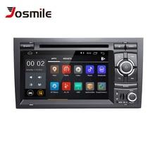 Josmile 2 Din Android 8,1 Автомобильный мультимедийный плеер для Audi A4 B6 B7 SEAT EXEO S4 B7 B6 RS4 8E 8 H Авторадио DVD AudioGPS навигации