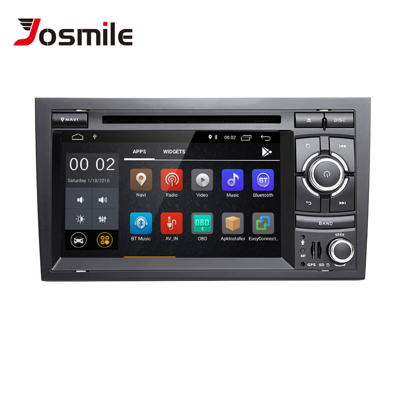 Josmile 2 Din Android 8 1 Car Multimedia font b Player b font For Audi A4