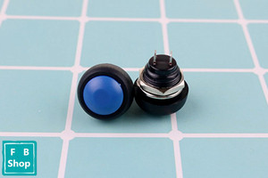 Image 3 - 6Pcs PBS 33b 2Pin Mini Switch 12mm 12V 1A Waterproof momentary Push button Switch since the reset Non locking