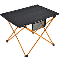 Portable Outdoor Folding Table Desk Aluminium Alloy Nylon Waterproof Ultra Light Durable Foldable Table For Camping