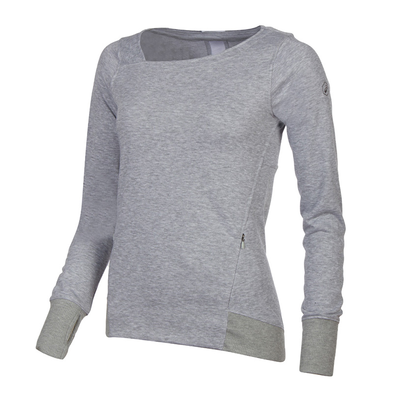 Female Sweatshirt ASICS 146611-7007 sports and entertainment for women sport clothes