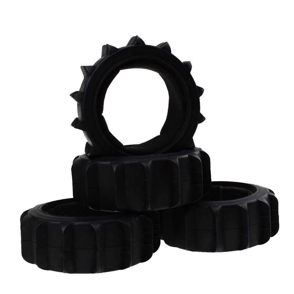 4pcs RC Rubber Tires Tyre for 1 8 Scale RC Off Road Buggy Traxxas TRX4 HSP in Parts Accessories from Toys Hobbies