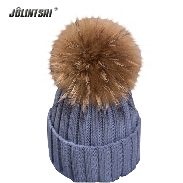 Brand 2016 Winter Hats for Women Candy Beanie Knitted Caps Crochet Hat Fuax Fur Pompons Ear Protect Cap Casual Caps Women Beanie