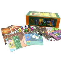 Full English version Dixit 1 2 3 4 5 6 7 educational kids toys for family activities children board game 12 players cards game