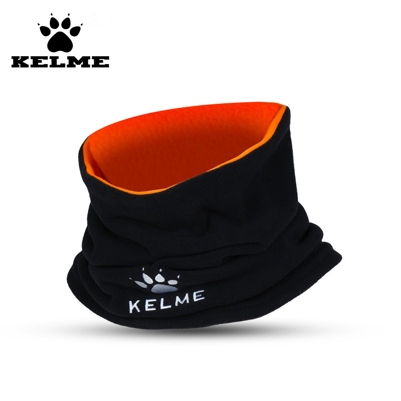 KELME Fleece Scarfs Children Survetement Football Outdoor Training Mask Warm Set Multifunctional Neck Collar Circle