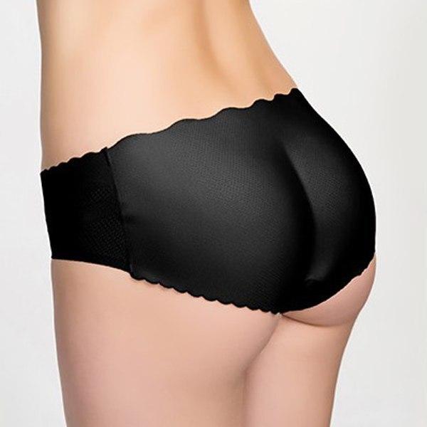 Femme Sexy Slip Culotte Push Up Prothese Fessier Fausses Fesses Coussinet  Mémoires Vélo Base Couches dans Base de vélo couches de Sports et Loisirs  sur ... 0f78e6714ae