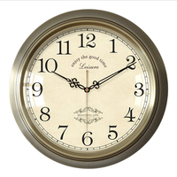 Geekcook Wall Clock Modern Design American Wall Clock Living Room Personality Creative Fashion Simple Beautiful Clock Wall Clock