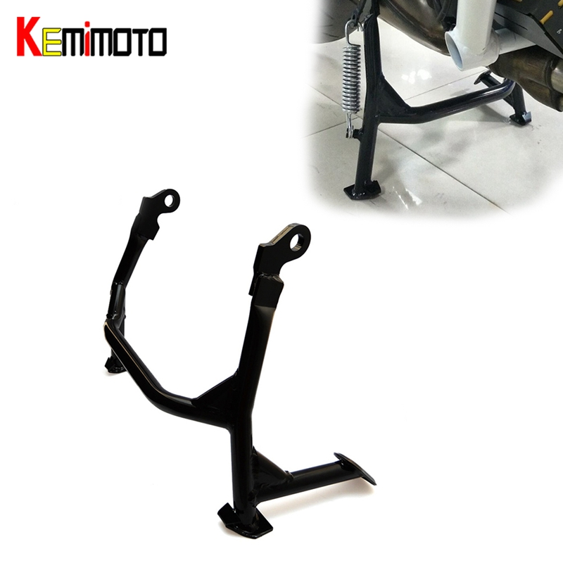 KEMiMOTO MT09 MT 09 Tracer FZ09 2014 2017 Centre Mount Foot Stand Centerstand For Yamaha MT-09 MT09 Tracer FZ 09 2013-2017 motorcycle parts for yamaha mt 09 fz 09 mt 09 tracer 2014 2015 2016 fz09 mt09 tracer radiator grille rear set chain guards etc