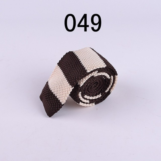 Lingyao unique knitting tie High quality jacquard woven Knitted necktie customized ties