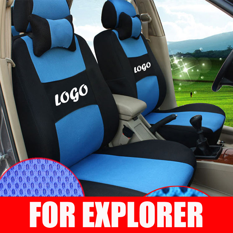 FORD EXPLORER 2006-2014 IGGEE S.LEATHER CUSTOM FIT SEAT COVER 13COLORS AVAILABLE