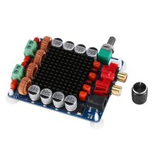 TPA3116 Усилитель мощности доска высокой мощности Цифровой Усилитель мощности доска 2x100 Вт двухканальный HF14 прочный