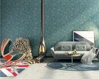 Beibehang papel de parede Nordic wallpaper green 3D wallpaper warm bedroom living room TV sofa background wall 3d wallpaper roll