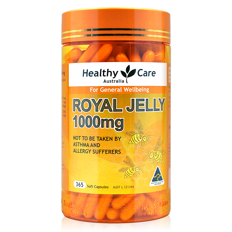 Australia Healthy Care Quality Royal Jelly Honey Bee Well-being Improvement Health Supplement Proteins Lipids Hormones 10-HDA
