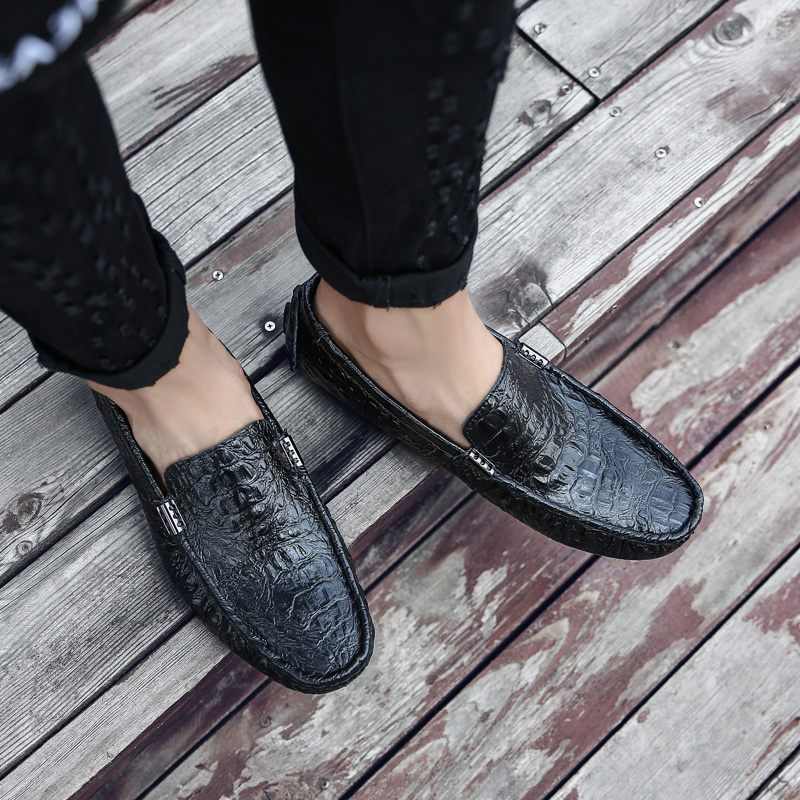 Men's Shoes Tosjc Men Casual Loafers Fashion Tassel Dress Shoes Male Luxury Leather Banquet Wedding Footwear Man Breathable Mesh Moccasins Formal Shoes