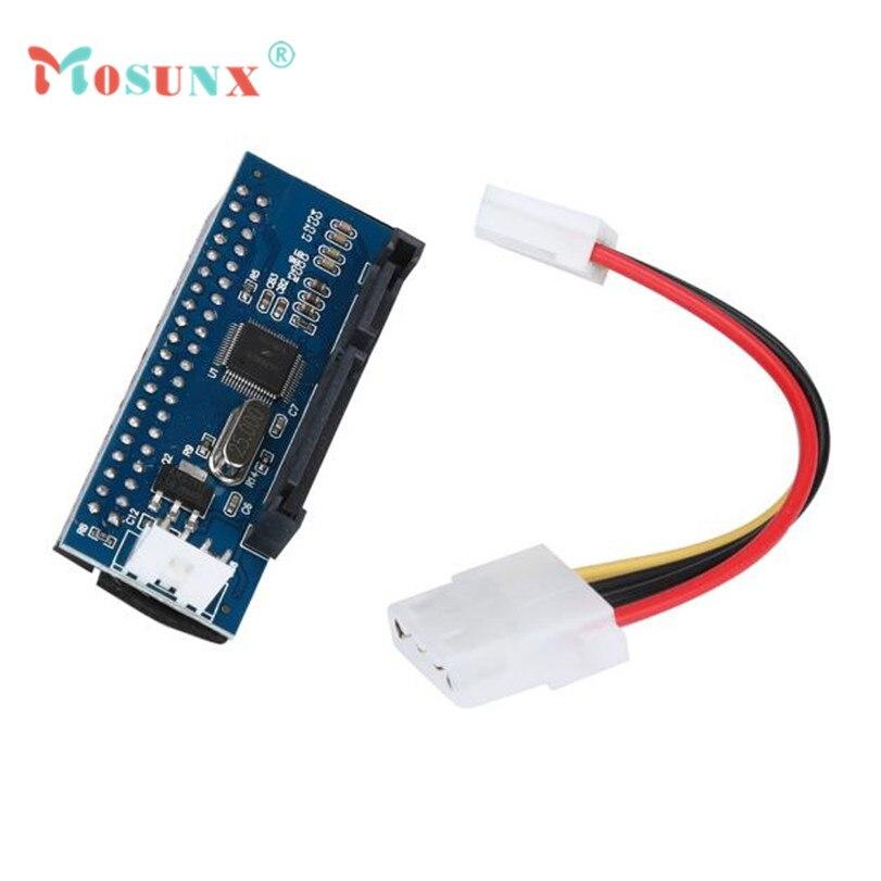 Hot-sale MOSUNX 40-Pin IDE Female To SATA 7+15Pin 22-Pin Male adapter PATA TO SATA Card 1 pc