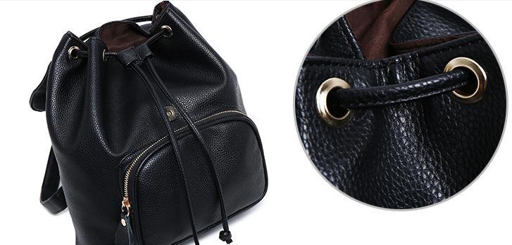 En été 2018, le nouveau sac à dos de voyage de vacances PU femme de loisirs mode et sac à bandoulière confortable - 3