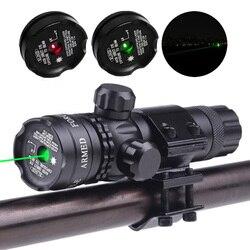 Mount Green Red Dot Laser Sight ปืนไรเฟิลปืนเลเซอร์ขอบเขต Mount หมวกสวิทช์ความดัน