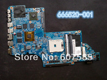 For HP DV7-6000 666520-001 Laptop Motherboard Mainboard AMD Non-integrated 35 days warranty