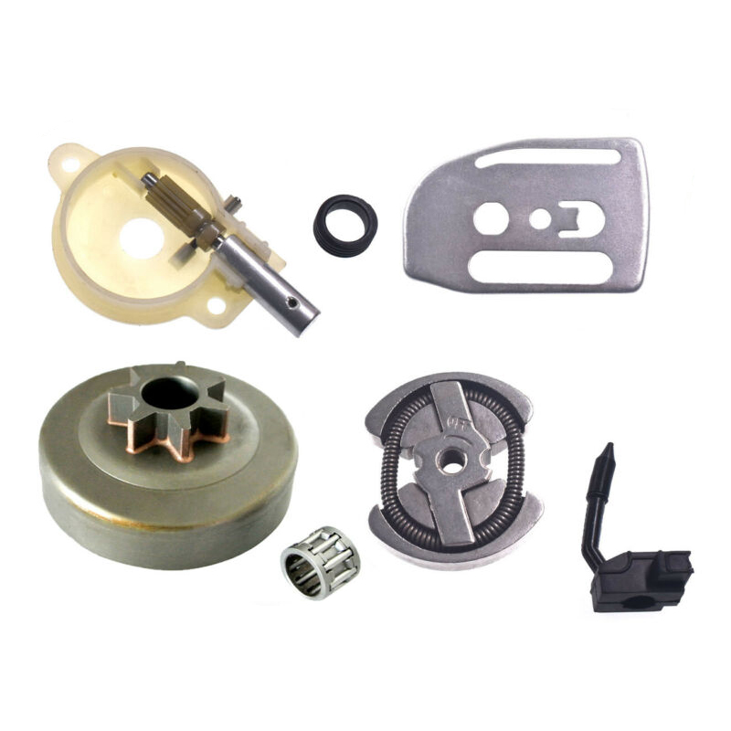 High Quality Oil Pump Oiler Gear & Clutch Drum Kit For HUSQVARNA 41 136 137 142 141 Chainsaw