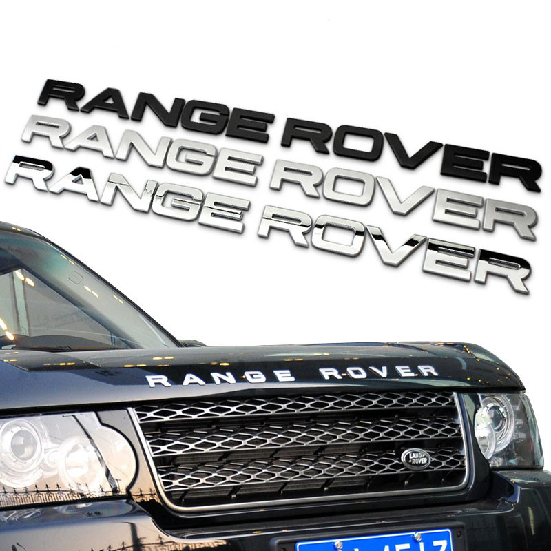 1 NEW DISCOVERY 3 LAND ROVER BLACK Lettering Rear Trunk Badge DISCOVERY 3 BK