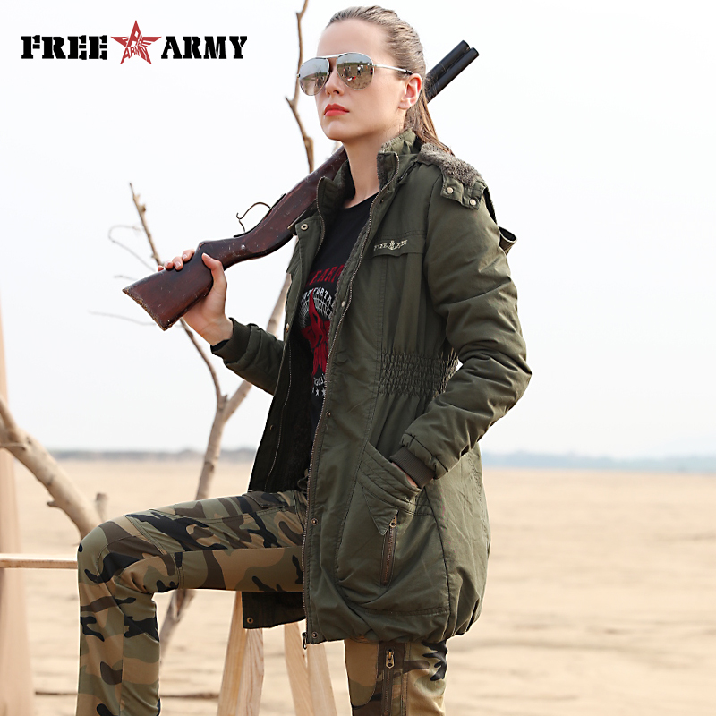 Brand Quality 2016 Fashion Women Parka Winter Jacket Female Long Parkas Coat Thick Hoody Winter Coats & Jackets GS-8372A  high quality womens coats winter fashion women parka winter jacket female long white duck down parkas coat thick hoody coat