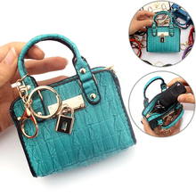 Fashion Lady Key Card Holder Female Money Package Small Fany Pouch Women Clutch Coin Purses Mini Handbag Model Change Purse 2019 women s coin purses lady polyester pailette hasp small wallet change pouch key card holder clutch handbag wholesale y