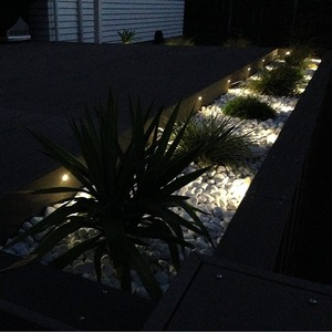 Image 5 - 2019 Underground Lamps 0.6W 12V LED Stair Lamps IP65 LED Garden Post Path Waterproof Lighting Outdoor Deck Plinth Lamp 6pcs/set