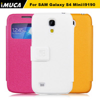 New 2014 Luxury Fashion Brand IMUCA Cell Phone Cases For Samsung Galaxy S4 Mini I9190 Case