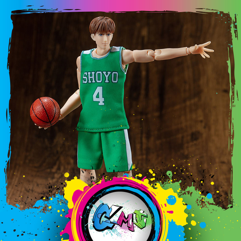 CMT Instock Dasin Model Slam Dunk Basketball Shoyo 4 Fujima Kenji Action Figure Anime Toys Figure